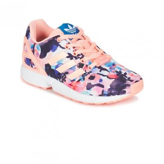 Chaussures ZX Flux C Flowers Cadet e17 - adidas Originals