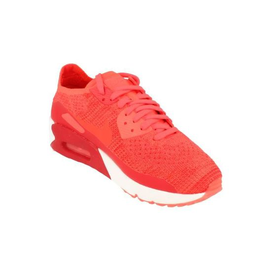 competitive price e80fa a68ac Nike Air Max 90 Ultra 2.0 Flyknit Hommes Running Trainers 875943 Sneakers  Chaussures 600 Rouge Rouge - Achat   Vente basket - Cdiscount