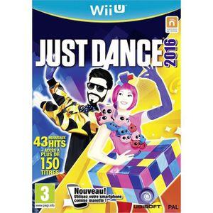 JEU WII U Just Dance 2016 Jeu  Wii U