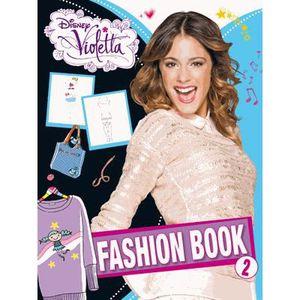 LIVRE JEUX ACTIVITÉS Violetta fashion book 2