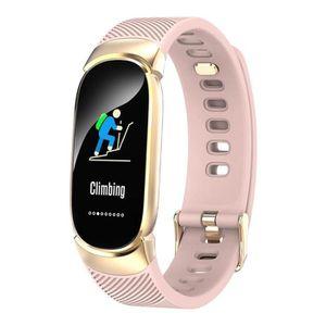 MONTRE CONNECTÉE QW16 Smart Bracelet étanche fréquence cardiaque mo