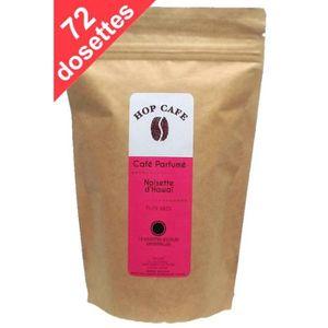 CAFÉ - CHICORÉE Pack 72 dosettes de Café aromatisé Noisette pour S