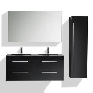 SALLE DE BAIN COMPLETE Ensemble de meubles de salle de bain double vasque