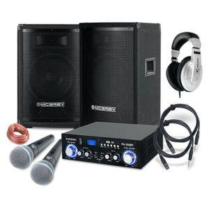 PACK ACCESSOIRES McGrey DJ système de karaoké Party-1500 800W