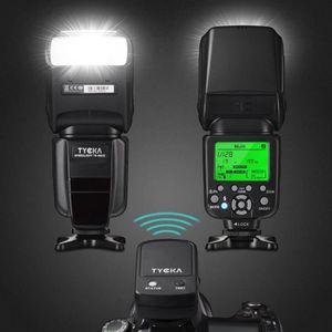 FLASH Tycka Professional E-TTL Flash avec télécommande d
