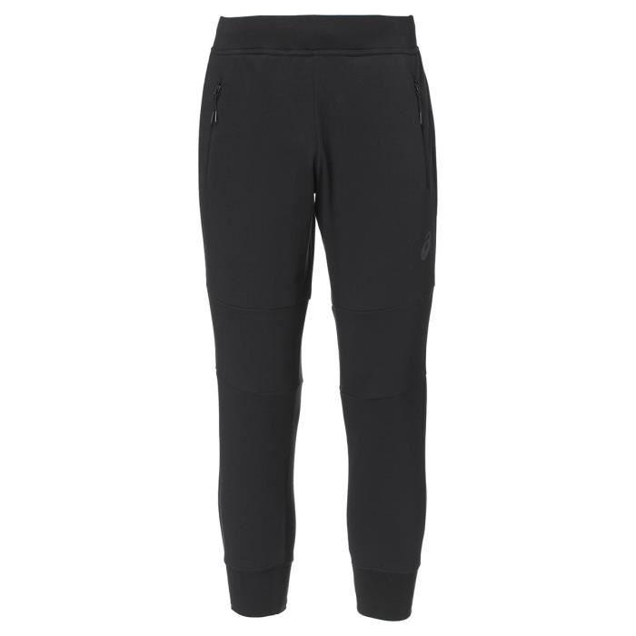 ASICS Pantalon de Jogging Terry Cuffed Homme - Noir