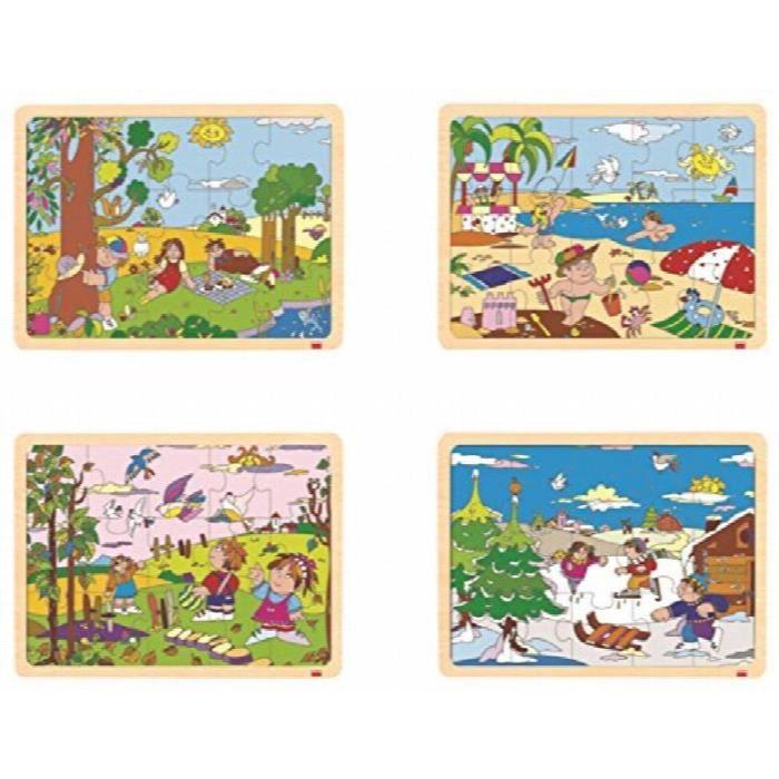CASSE-TÊTE 52215 Set The Four Seasons Puzzle (4-piece) BBUW0