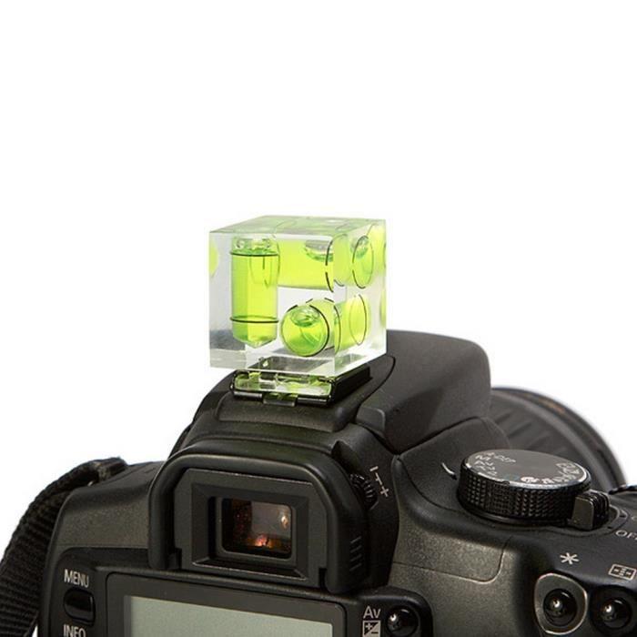 niveau bulle 3d pour bo tier photo canon nikon pentax achat vente objectif cdiscount. Black Bedroom Furniture Sets. Home Design Ideas