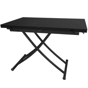 Table relevable extensible achat vente table relevable for Table basse relevable carrera