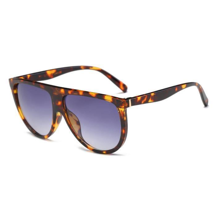 Lunettes LJL70612134A unisexe de 1234 Mode mince Shaded gris de Aviator mode Vintage lunettes soleil q70fBxS0