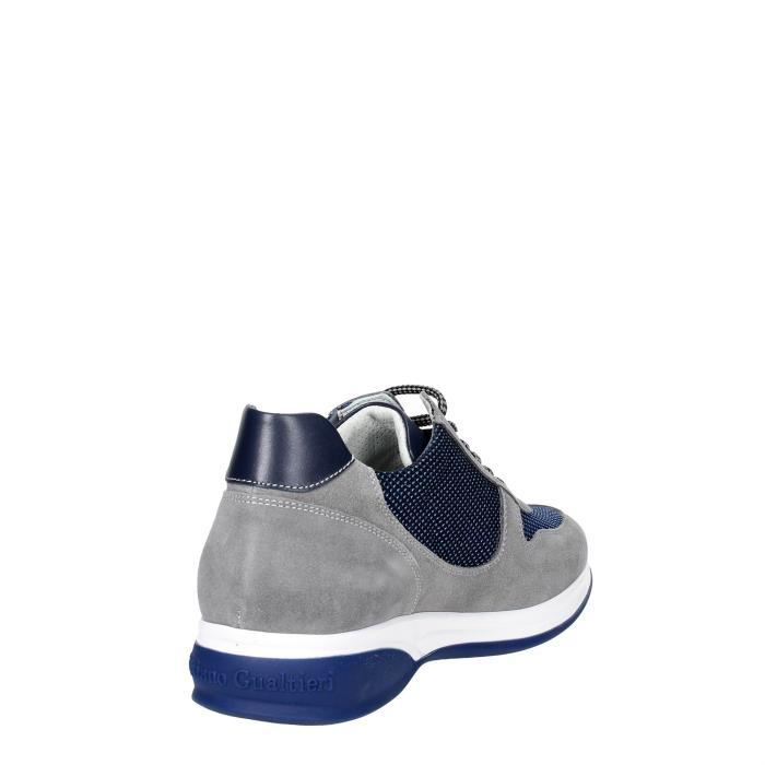 Cristiano Gualtieri Sneakers Homme Gris/Bleu, 44