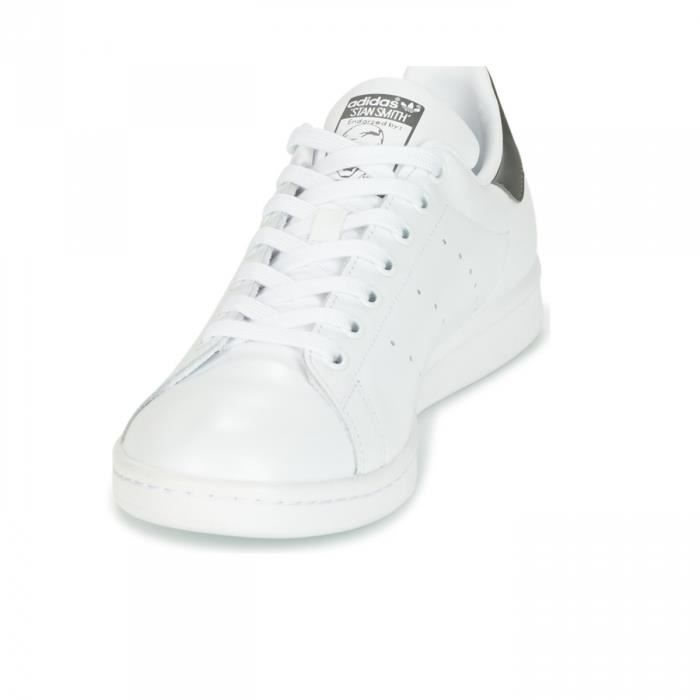 Chaussures Stan Smith Blanc/Gris e18 - adidas Originals