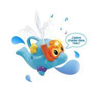 JOUET DE BAIN VTECH BABY - Aldo le dauphin à jets d'eau