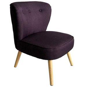 Fauteuil violet achat vente fauteuil violet pas cher cdiscount - Fauteuil crapaud eurodif ...
