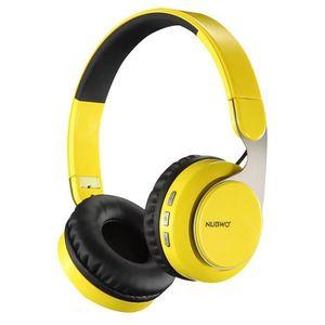 CASQUE - ÉCOUTEURS NUBWO S8 - Casque sans fil - Bluetooth Casque - Ca