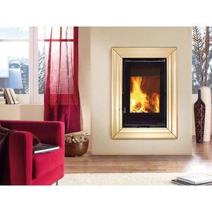 INSERT - FOYER Insert cheminée à bois La NORDICA 10,2KW Inserto 5