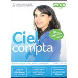 PROFESSIONNEL À TÉLÉCHARGER Logiciel Comptabilité- Ciel Compta - Abonnement 12