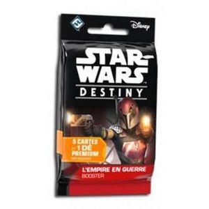 CARTE A COLLECTIONNER Star Wars Destiny - Booster Français - L'Empire En