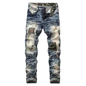 JEANS Jeans Fashion Homme Dechirés Coupe Slim Effet Déla ... a442441f110