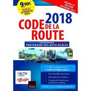 AUTRES LIVRES Code de la route 2018