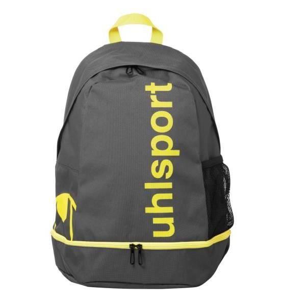 UHLSPORT Sac à dos de sport Essential Backpack - Gris anthracite et jaune