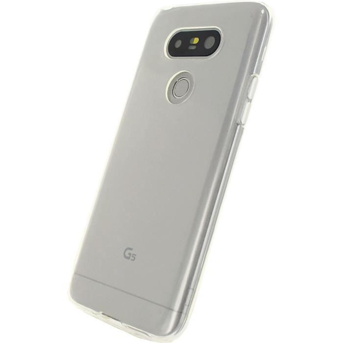 MOBILIZE Coque de protection gel silicone pour telephone LG G5 SE Transparent
