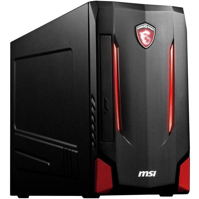 MSI Unité Centrale Gamer Nightblade MI2C-278EU - RAM 8 Go - Intel® Core® i5 7400 - NVIDIA® GeForce® GTX™ 1050 Ti - 1To