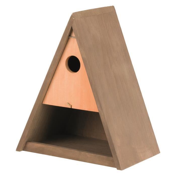 TRIXIE Mangeoire et Nichoir - 25x30x17cm-Ø3,5cm - Pour oiseau