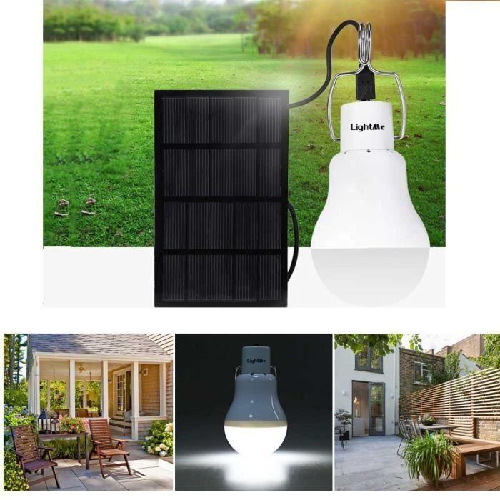 Pour Jardin Xc979 1200 130lm S Batterie Ampoules Led Extérieur Solaire Lumière 800ma Portable Powered Intérieur Lampe roeQdBxECW