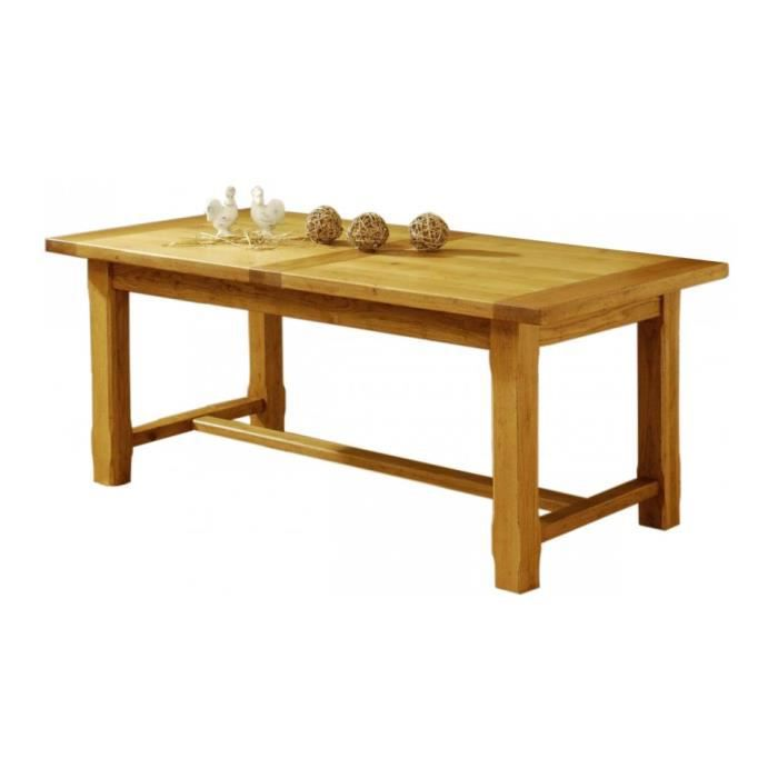Table a manger en chene massif achat vente table a - Table en chene massif pas cher ...