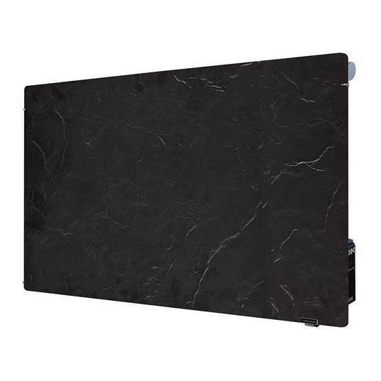radiateur lectrique valderoma 1500w ardoise noire achat. Black Bedroom Furniture Sets. Home Design Ideas