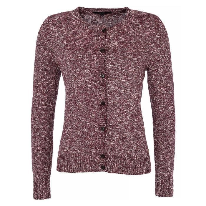 GUCCI Femmes Cardigan tricoté Rouge - Achat   Vente pull - gilet ... 8986f891f42