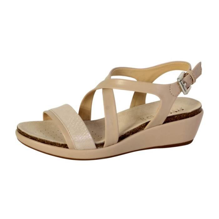 Sandale Achat Beige Abbie D72p6a Taupe Geox Champagne 80mvnNwO