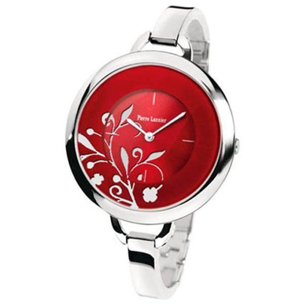 pierre lannier 153j651 montre femme rouge classique achat vente montre cdiscount. Black Bedroom Furniture Sets. Home Design Ideas