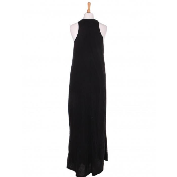 Robe BEL AIR 36 Noir en Coton