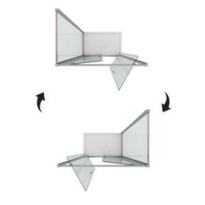 cabine de douche 80x100 achat vente pas cher. Black Bedroom Furniture Sets. Home Design Ideas