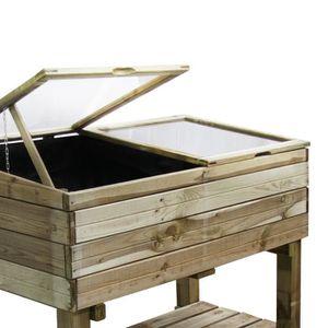 mini serre en bois achat vente mini serre en bois pas. Black Bedroom Furniture Sets. Home Design Ideas