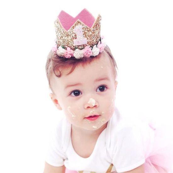 Bebe Princesse Fleur Couronne Bandeau Anniversaire Accessoires