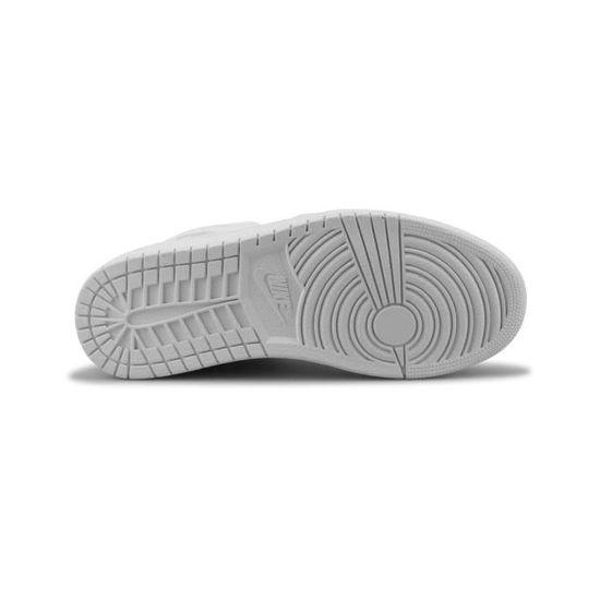 sports shoes 1513d 31bfd Basket Air Jordan 1 Mid Blanc 554724-104 Blanc Blanc - Achat   Vente basket  - Cdiscount