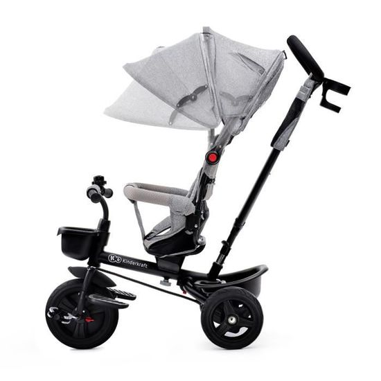 KINDERKRAFT Tricycle AVEO Gris - 3 roues - Evolutif - Pliable - Achat    Vente tricycle - Cdiscount 9df886f3c9a