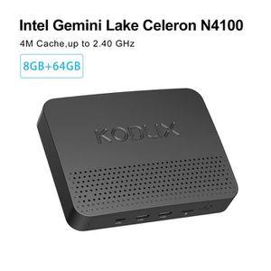 UNITÉ CENTRALE  GN41 MIN PC, DDR4 8GB/64GB, Windows 10 Pro 64-bit,