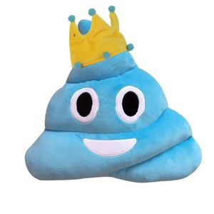 COUSSIN Coussin Emoji Amusing Emoticon Coeur Yeux Poo Form