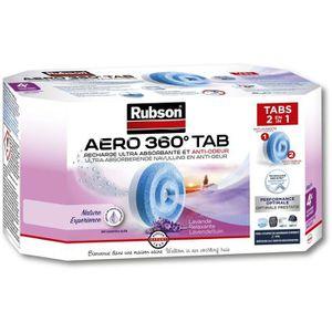 ABSORBEUR D'HUMIDITÉ RUBSON 4 Recharges Aero 360 Lavande