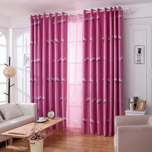 rideaux fil rose achat vente rideaux fil rose pas cher cdiscount. Black Bedroom Furniture Sets. Home Design Ideas