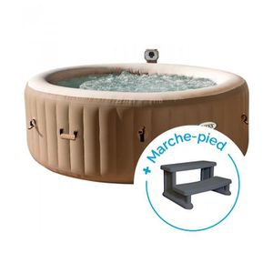 SPA COMPLET - KIT SPA Spa gonflable Intex PureSpa Bulles 4 personnes + M