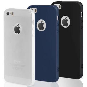 coque iphone 5 noir mat