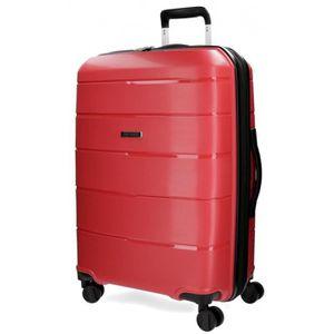 VALISE - BAGAGE Vent grande valise Movom 75cm rouge rigides
