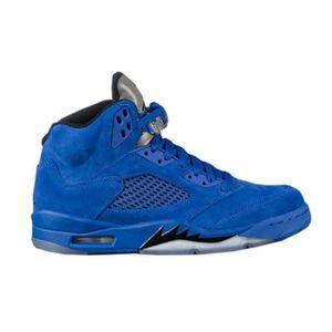 Air Blue Nike Chaussures Suede V Retro Jordan O706qw