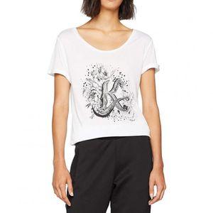 T-SHIRT Gravy Femme Tee-shirt Blanc Kaporal