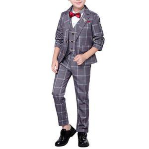 COSTUME - TAILLEUR Costume garçon mariage 3 Pièces à la mode un Bouto
